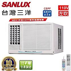 台灣三洋SANLUX 4-6坪窗型定頻左吹式110V SA-L281FE
