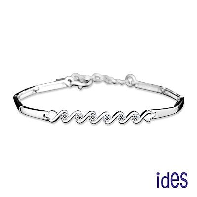 ides愛蒂思 日韓風尚輕珠寶系列晶鑽手鍊/精緻
