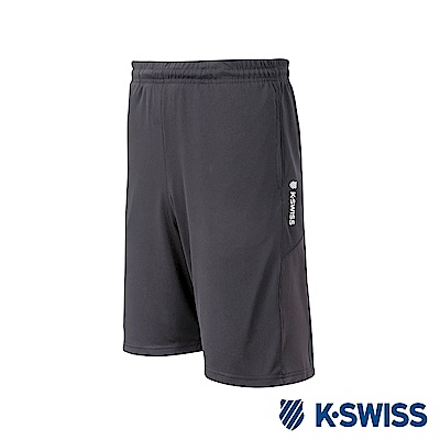 K-SWISS PF Shorts運動短褲-男-黑
