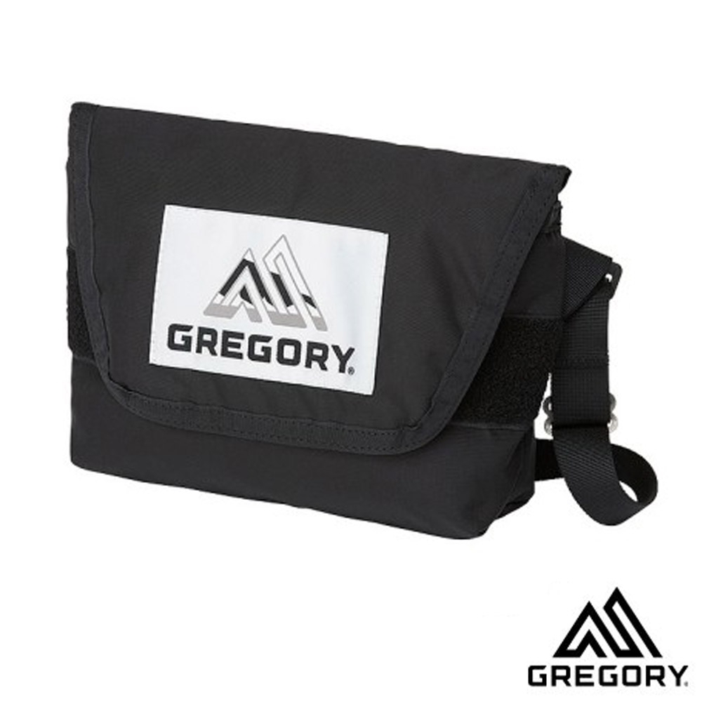 GREGORY 新款 BOLD TEENY 4L 超輕可調式側背包_黑