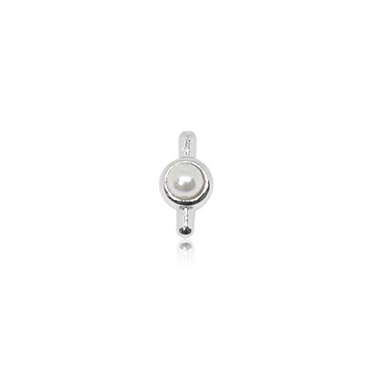 HOURRAE 六月誕生石 珍珠 優雅銀色系列 小飾品