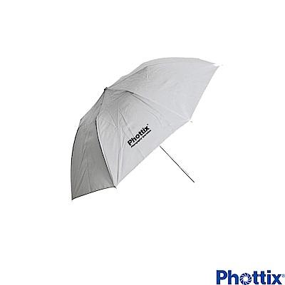 Phottix 91公分 雙節可折疊白色透射傘-85361