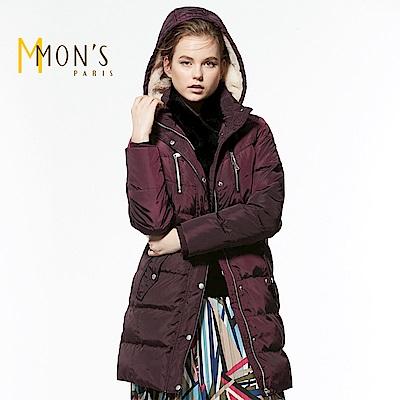 MONS 立領保暖長版修身羽絨大衣/外套共3色
