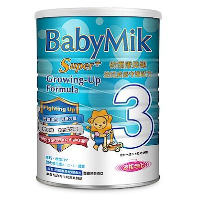 BabyMik佑爾康貝親 Super+幼兒成長守護配方900g(12罐)