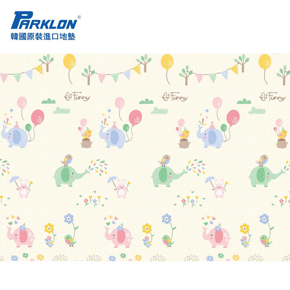 【PARKLON】韓國帕龍無毒地墊 - 單面切邊 - 大象馬戲團