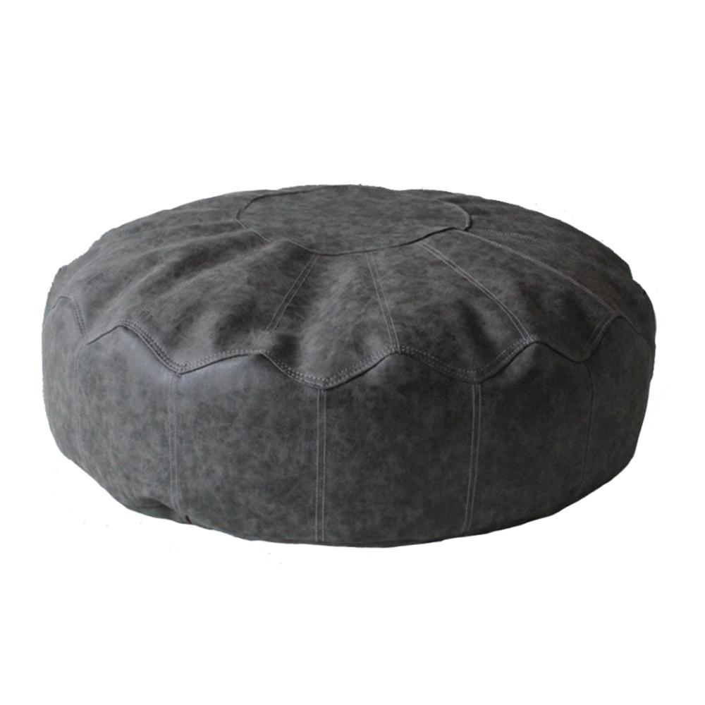 英國Better Dreams Bean Bag 懶骨頭-大扁圓灰色(寬80cm高20cm)