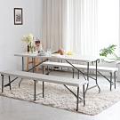180*70手提折疊式戶外露營餐桌/會議桌