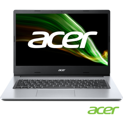 Acer A114-33-C2JA 14吋筆電(N4500/4GB/64GB eMMC/Aspire1/銀)