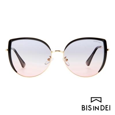 BIS IN DEI 迷人貓眼框太陽眼鏡-粉