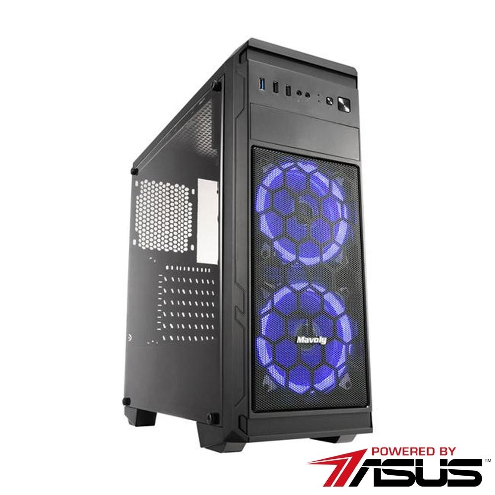 華碩平台[鬼火策士]i5-9400F/8G/1T/GTX1660S/256G_M2