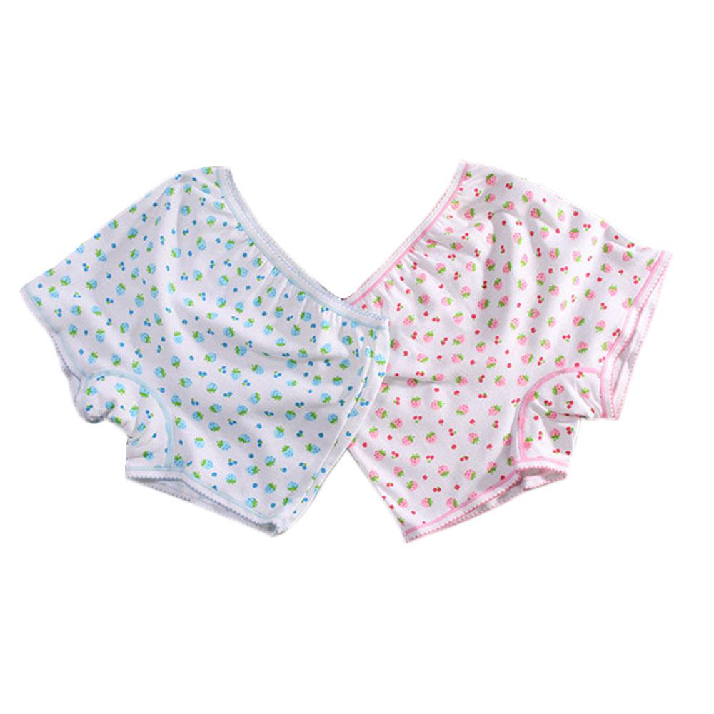 女童印花純棉平口內褲(兩件一組) a70156 魔法Baby