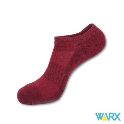 WARX除臭襪 足弓防護船型運動襪混紗6入組 L號26-29cm