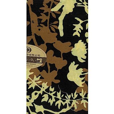 美國進口配色棉布-和風黑-10