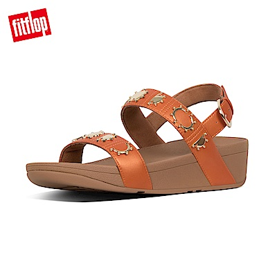 FitFlop STUD BACKSTRAP SANDALS-橙色