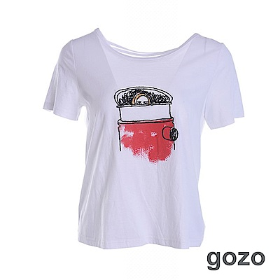 gozo 西蒙的異想世界棉T(二色)