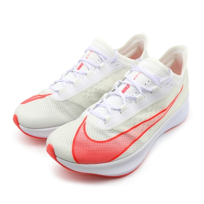 Nike ZOOM FLY 3 男 跑步鞋 白(AT8240101)