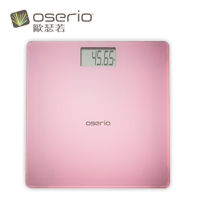oserio歐瑟若 Rose晶采玫瑰機 電子體重計(BAG-280P)