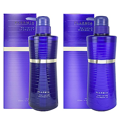 Milbon哥德式 PLARMIA璀璨系列-藍鑽Oil洗髮精500ml