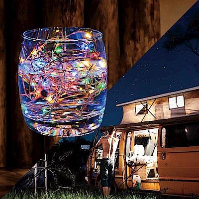 五彩流螢 LED星點絲線燈(2M)