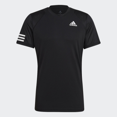 ADIDAS 上衣 網球 短袖上衣 運動 慢跑 休閒 男款 黑 GL5403 CLUB TENNIS