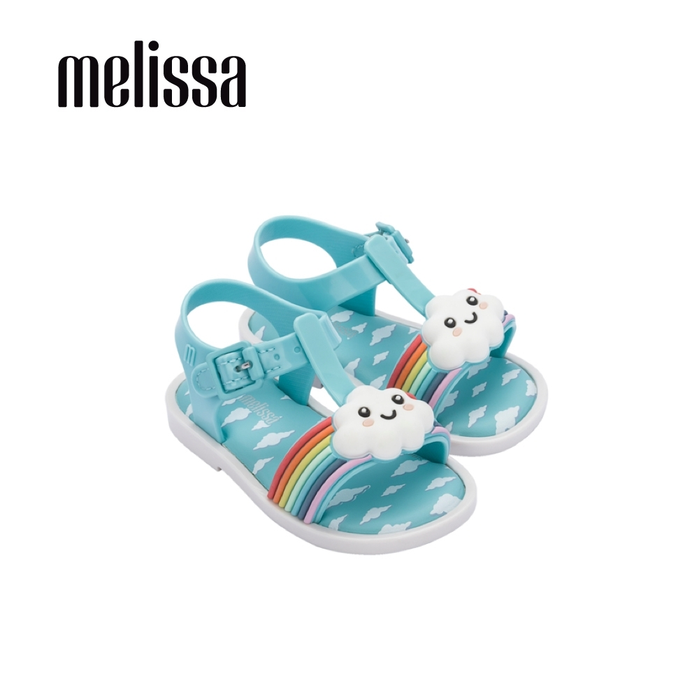 Melissa ULTRAGIRL彩虹好天氣涼鞋 寶寶款-藍