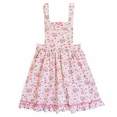 Sanrio 兔媽媽杯子蛋糕系列純棉花邊圍裙