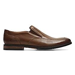 Clarks Broyd Step 男 正裝皮鞋 棕