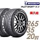 【米其林】PILOT SPORT 4S PS4S 高性能運動輪胎_二入組_265/35/20 product thumbnail 1