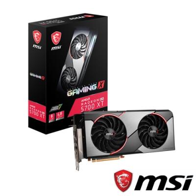 MSI微星 Radeon RX 5700 XT GAMING X 顯示卡