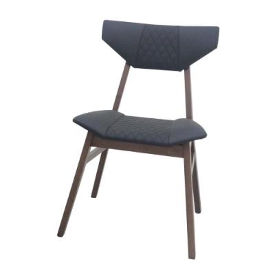 Boden-布登實木餐椅/單椅-52x53x78cm