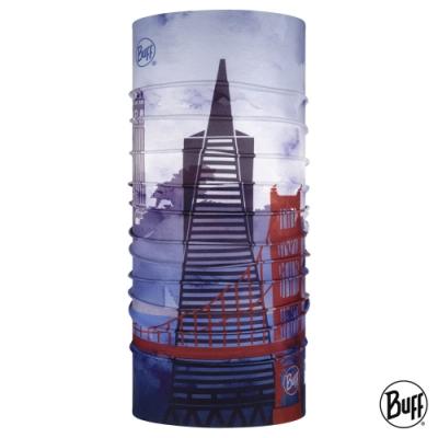 【西班牙BUFF】經典頭巾 Plus-城市系列-舊金山