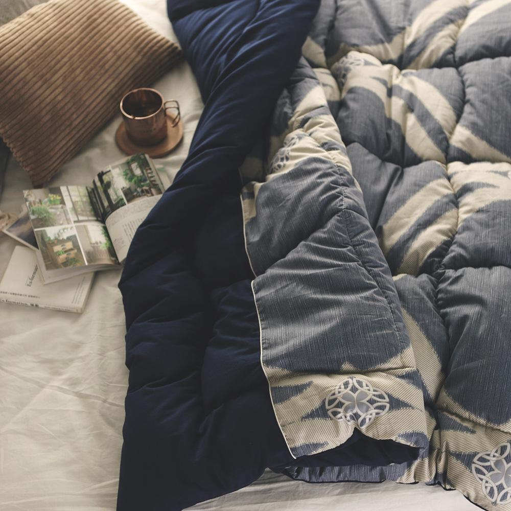 絲薇諾 MIT-SUN Q被/純棉mix暖絨被-蔚藍尼斯(150×200cm)