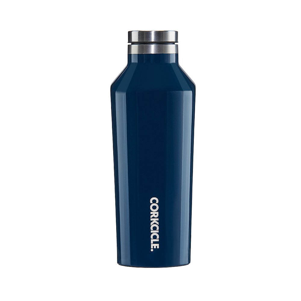 CORKCICLE 酷仕客GLOSS 系列三層真空易口保溫瓶270ml( 海軍藍)