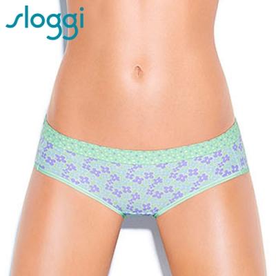sloggi Mix It III自然頻率系列 平口內褲 M-EL 粉綠 R87-1776G5