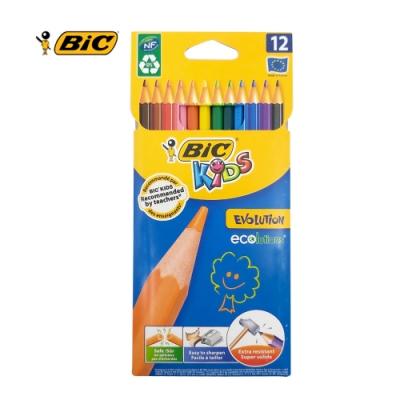 BIC 12色強化版色鉛筆