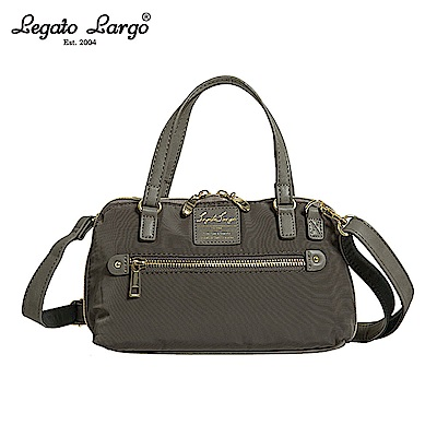 Legato Largo 2WAY兩用手提包-大-灰色 LH-H1053GY