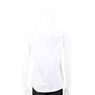 Chiara Ferragni Flirting 眨眼刺繡亮白色棉質短T恤