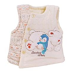 嬰幼兒加厚鋪棉絨毛保暖背心 k60255  魔法Baby