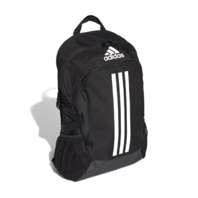 adidas 後背包 Power <b>5</b> Backpack 男款 愛迪達 三線 基本款 運動休閒 穿搭 黑 白 FI7968