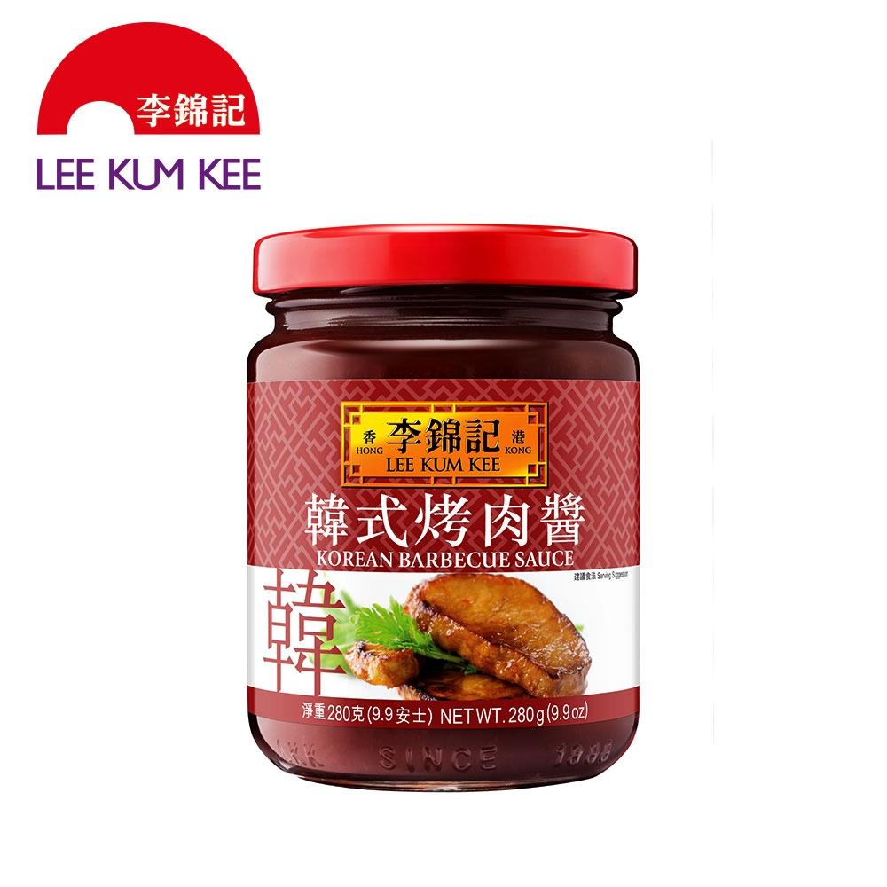 (任選)李錦記 韓式烤肉醬 280g (燒烤/醃醬/拌醬)