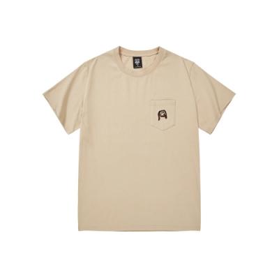 CACO-彈簧狗口袋短T-情侶款-男【SDI063】
