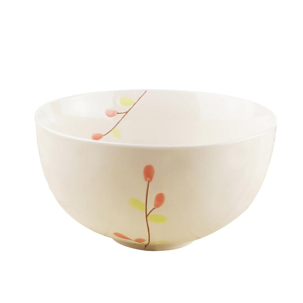 Caldo卡朵生活 和風萌芽手繪大肚湯碗15cm