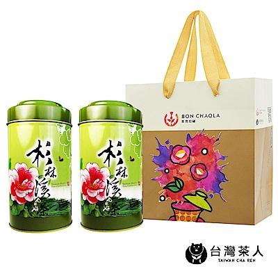 台灣茶人 杉林溪特選烏龍 兩罐裝組(半斤/四兩裝)