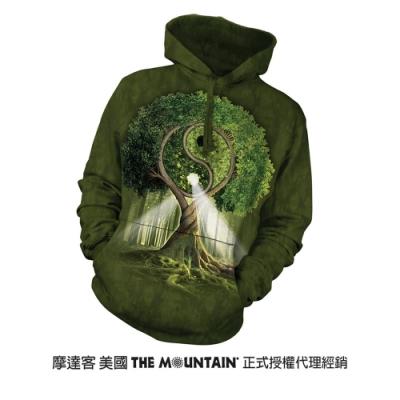 摩達客 美國進口The Mountain 陰陽村 長袖連帽T恤