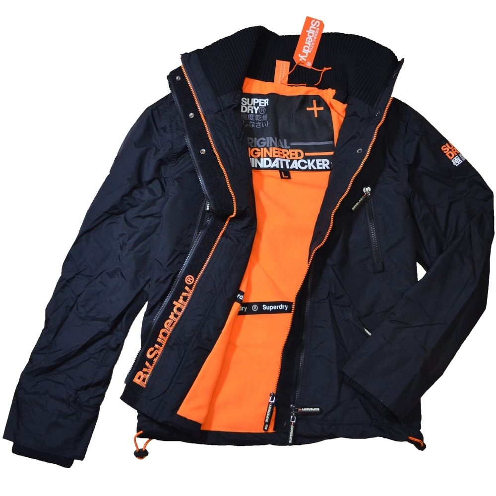 SUPERDRY 極度乾燥 男 外套 黑色 1455