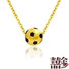囍金 FIFA世界杯足球  999千足黃金項鍊