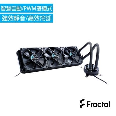 Fractal Design Celsius S36 水冷散熱器-全黑化