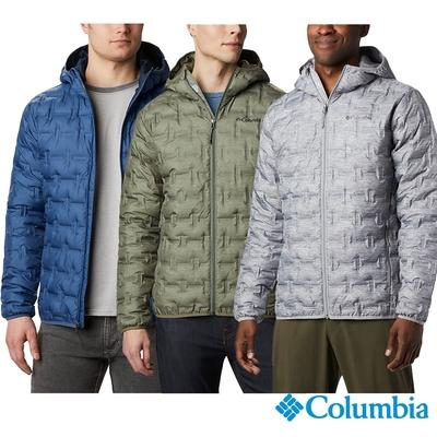 Columbia 哥倫比亞 男款 -  Omni-HEAT 保暖650羽絨連帽外套 UWE09540