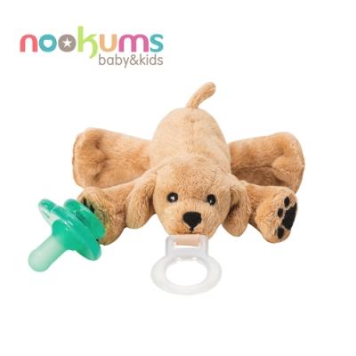 nookums 美國  寶寶可愛造型安撫奶嘴 / 玩偶 - 可愛小狗狗