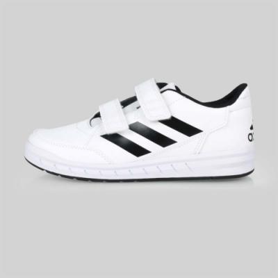 ADIDAS 中童慢跑鞋 AltaSport CF K 白黑